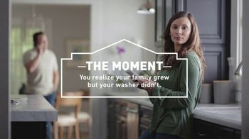 Lowe's TV Spot, 'The Moment: Washing Machine' - 654 commercial airings