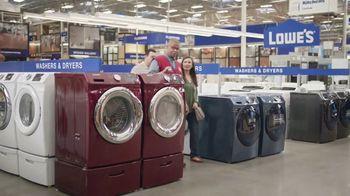 Lowe's TV Spot, 'The Moment: Washing Machine' - Thumbnail 6