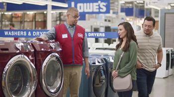 Lowe's TV Spot, 'The Moment: Washing Machine' - Thumbnail 7