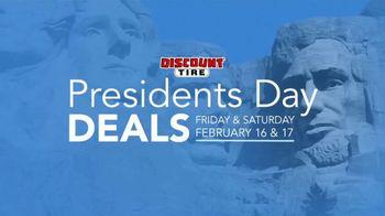 Discount Tire Presidents Day Deals TV Spot, 'Visa Prepaid Cards' - Thumbnail 3