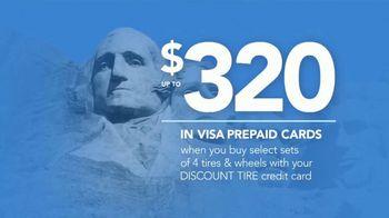 Discount Tire Presidents Day Deals TV Spot, 'Visa Prepaid Cards' - Thumbnail 7