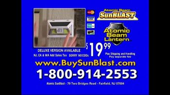Atomic Beam SunBlast TV Spot, 'Solar Light' - Thumbnail 9