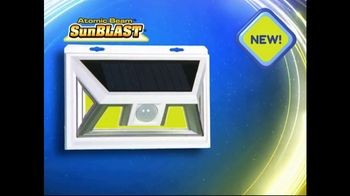 Atomic Beam SunBlast TV Spot, 'Solar Light' - Thumbnail 1