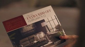 Havertys Presidents Day Event TV Spot, 'Bedtime Story' - Thumbnail 3
