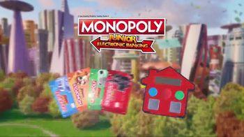 Monopoly Junior Electronic Banking TV Spot, 'No More Cash' - Thumbnail 3