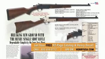 Henry Repeating Arms TV Spot, 'Old Fashioned and Family-Owned' - Thumbnail 8