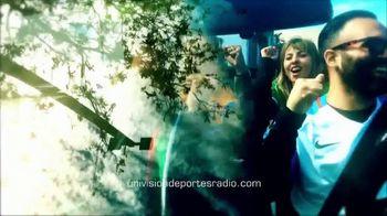 Univision Deportes Radio TV Spot, 'La pásion del deporte' [Spanish]