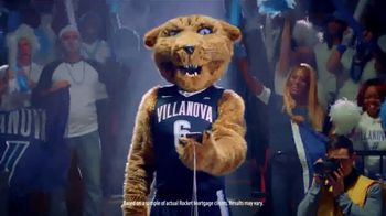Quicken Loans Rocket Mortgage TV Spot, \'Mascots Are Confident: Villanova\'