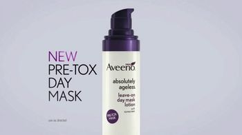 Aveeno Absolutely Ageless Pre-Tox Day Mask Lotion TV Spot, 'Skin Defense' - Thumbnail 6