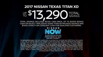 Nissan Now Presidents Day Sales Event TV Spot, 'Can't Miss: Titan' [T2] - Thumbnail 9