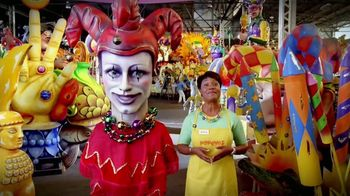 Popeyes Mardi Party Pack TV Spot, 'King Meal of Mardi Gras' - 1 commercial airings