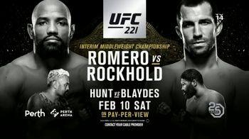 UFC 221 TV Spot, 'XFINITY: Romero vs. Rockhold' - Thumbnail 7