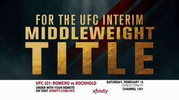 UFC 221 TV Spot, 'XFINITY: Romero vs. Rockhold' - Thumbnail 1