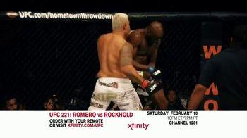 UFC 221 TV Spot, 'XFINITY: Romero vs. Rockhold' - Thumbnail 4