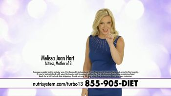 Nutrisystem Turbo 13 TV Spot, 'Best Plan Yet' Featuring Melissa Joan Hart - Thumbnail 2