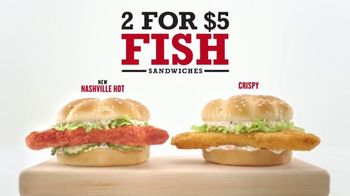 Arby's 2 for $5 Fish Sandwiches TV Spot, 'If You Like Fish' - Thumbnail 3