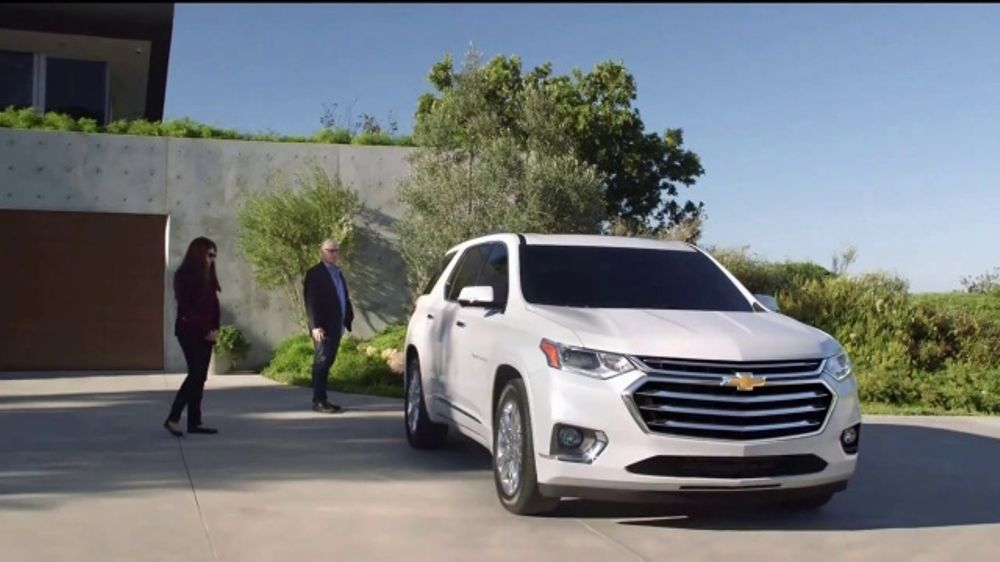 2018 Chevrolet Traverse TV Commercial, 'Family Reunion ...