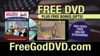 Learn Our History TV Spot, 'Free God DVD' - Thumbnail 8