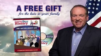 Learn Our History TV Spot, 'Free God DVD'