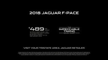 Jaguar Impeccable Timing Sales Event TV Spot, 'Adapt: 2018 Jaguar F-PACE' [T2] - Thumbnail 7