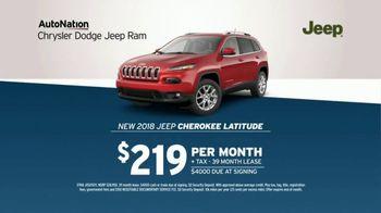 AutoNation TV Spot, 'Huge Savings: 2018 Jeep Cherokee Latitude' - Thumbnail 6