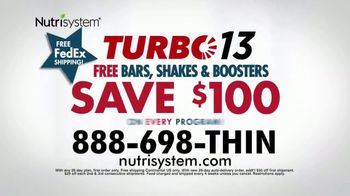 Nutrisystem Presidents' Day Sale TV Spot, 'Turbo13' - Thumbnail 9