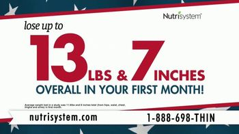 Nutrisystem Presidents' Day Sale TV Spot, 'Turbo13' - Thumbnail 2