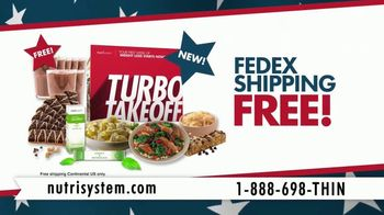 Nutrisystem Presidents' Day Sale TV Spot, 'Turbo13' - 1057 commercial airings