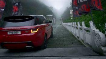 2018 Range Rover Sport TV Spot, 'Racing Tianmen Mountain'