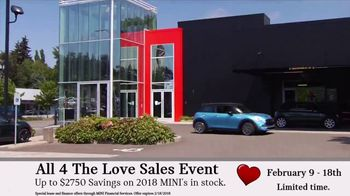 MINI USA All 4 the Love Sales Event TV Spot, 'MINI Cooper Signature Line' [T2] - Thumbnail 7