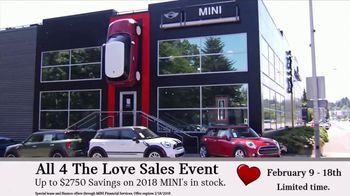 MINI USA All 4 the Love Sales Event TV Spot, 'MINI Cooper Signature Line' [T2] - Thumbnail 8