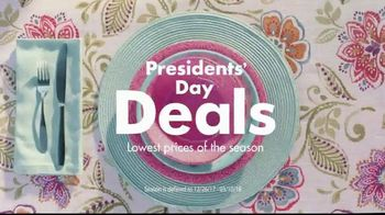 Big Lots Presidents' Day Deals TV Spot, 'Joy: Sofas and Loveseats'