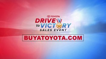 Toyota Drive to Victory Sales Event TV Spot, 'Presidents Day: 2018 Camry' [T2] - Thumbnail 6