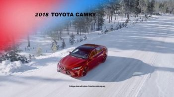 Toyota Drive to Victory Sales Event TV Spot, 'Presidents Day: 2018 Camry' [T2] - Thumbnail 1