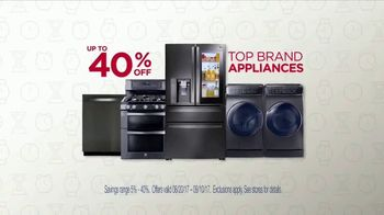 Sears Labor Day Event TV Spot, 'Top Brand Appliances' - Thumbnail 3