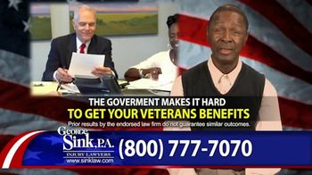George Sink, P.A. TV Spot, 'Actual Clients: Julius and Robert'