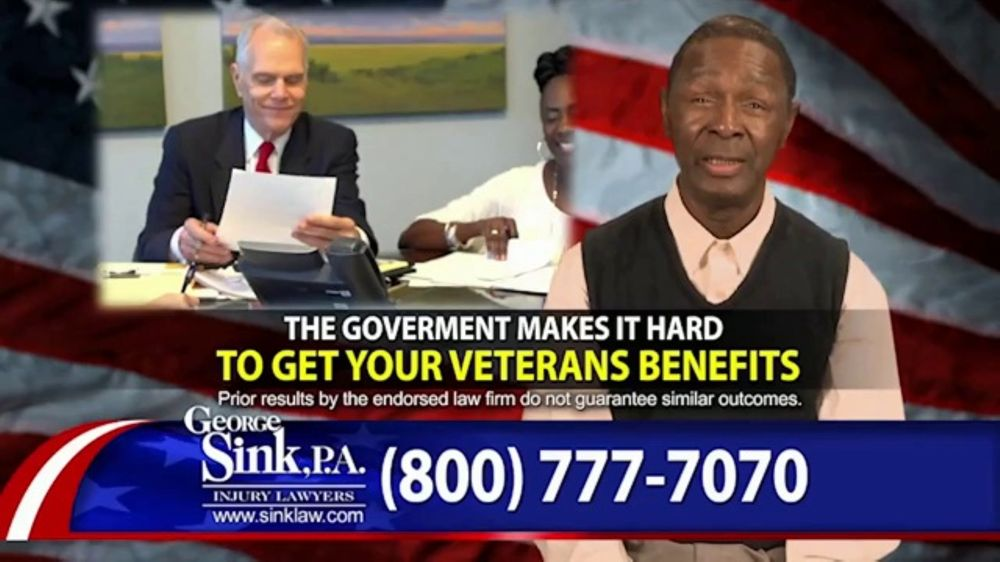 George Sink, P.A. TV Commercial, 'Actual Clients: Julius and Robert'