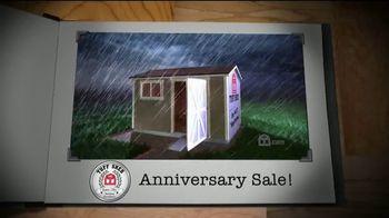Tuff Shed Anniversary Sale TV Spot, 'Online Configurator'