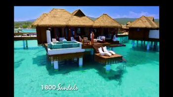 Sandals Resorts TV Spot, 'New Over-the-Water Villas' - Thumbnail 3