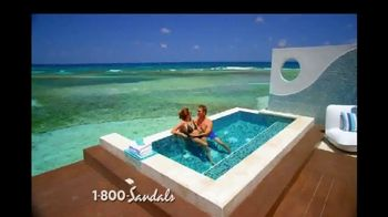 Sandals Resorts TV Spot, 'New Over-the-Water Villas' - Thumbnail 5