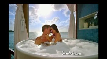 Sandals Resorts TV Spot, 'New Over-the-Water Villas' - Thumbnail 6
