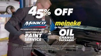 Maaco TV Spot, '45th Anniversary: Paint Service and Oil Change'
