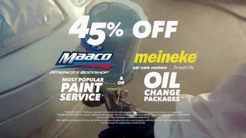 Maaco TV Spot, '45th Anniversary: Paint Service and Oil Change' - Thumbnail 7