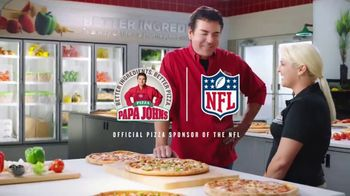 Papa John's XL 2-Topping Pizza TV Spot, 'Quality Control' - Thumbnail 9