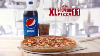 Papa John's XL 2-Topping Pizza TV Spot, 'Quality Control' - Thumbnail 8