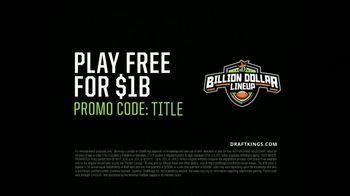 DraftKings Billion Dollar Lineup TV Spot, 'Why Do You Play?' - Thumbnail 8