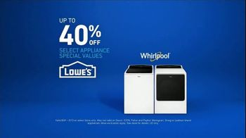 Lowe's TV Spot, 'The Moment: Laundry Load' - Thumbnail 9