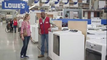 Lowe's TV Spot, 'The Moment: Laundry Load' - Thumbnail 3