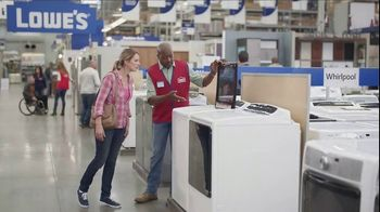 Lowe's TV Spot, 'The Moment: Laundry Load' - 3487 commercial airings