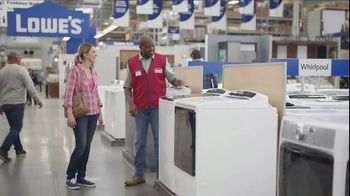 Lowe's TV Spot, 'The Moment: Laundry Load' - Thumbnail 5